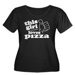 This Girl Loves Pizza Plus Size T-Shirt