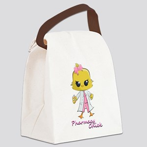 Pharmacy Chick Canvas Lunch Bag