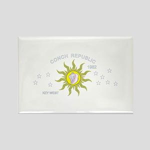 Key West Flag Rectangle Magnet (10 pack)