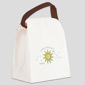 Key West Flag Canvas Lunch Bag
