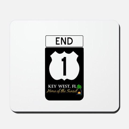 Highway 1 Key West Mousepad