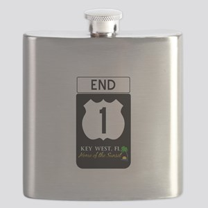 Highway 1 Key West Flask