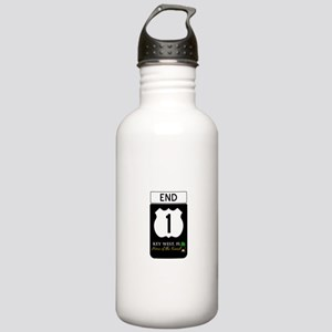 Highway 1 Key West Water Bottle