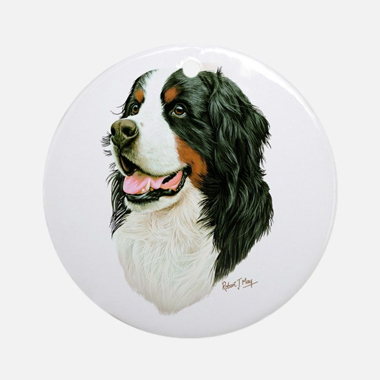 Bernese Mountain Dog Ornament (Round)
