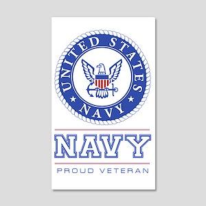 Navy - Proud Veteran Wall Decal