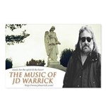 The Music of JD Warrick Postcards