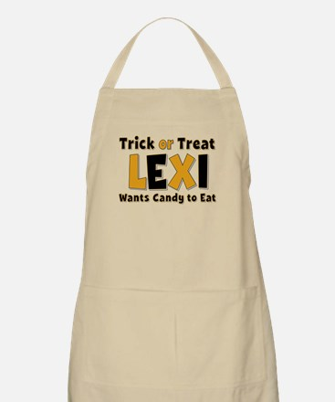 Lexi Trick or Treat Apron