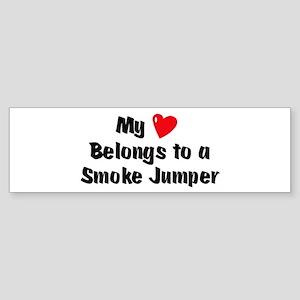 My Heart: Smoke Jumper Bumper Sticker