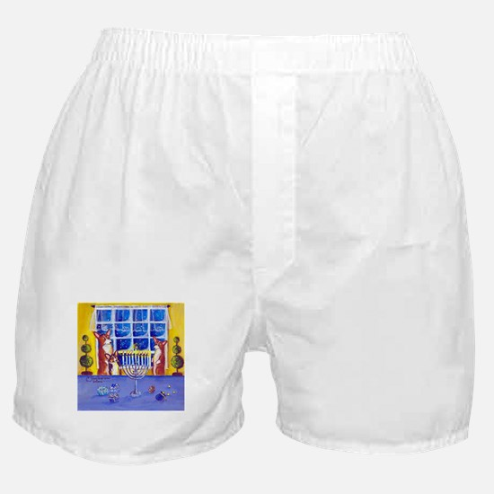 Oh Hannukah! Boxer Shorts