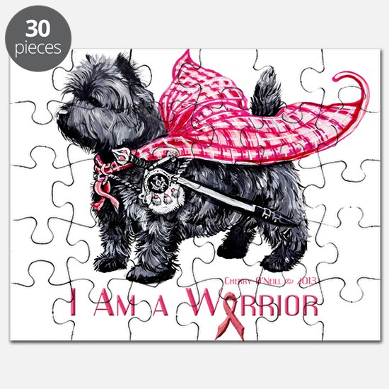 Carin Cancer Warrior Puzzle