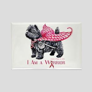 Carin Cancer Warrior Rectangle Magnet (10 pack)