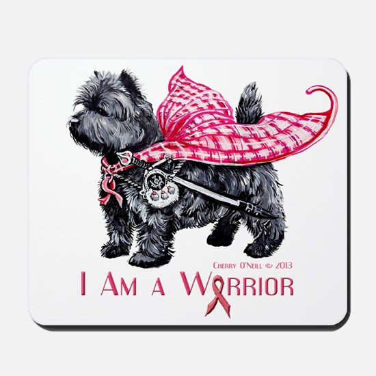Carin Cancer Warrior Mousepad