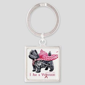 Carin Cancer Warrior Keychains