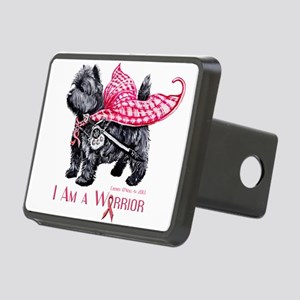 Carin Cancer Warrior Hitch Cover