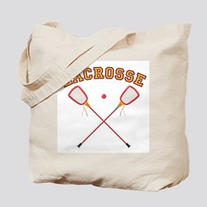 Lacrosse Sticks Tote Bag