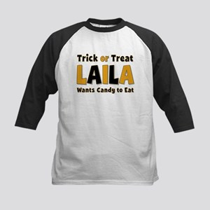 Laila Trick or Treat Baseball Jersey