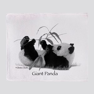 Giant Panda Throw Blanket