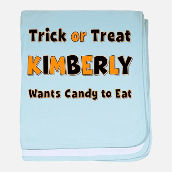 Kimberly Trick or Treat baby blanket