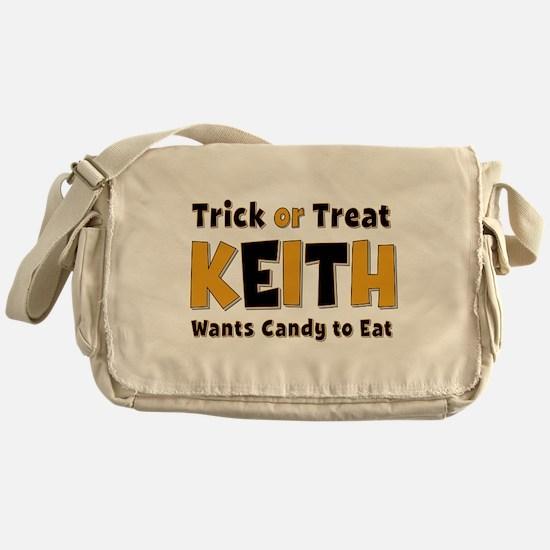 Keith Trick or Treat Messenger Bag