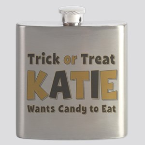 Katie Trick or Treat Flask