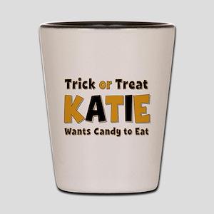 Katie Trick or Treat Shot Glass