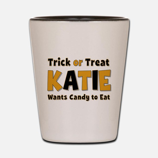 Katie Trick or Treat Shot Glass