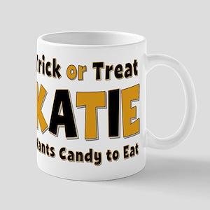 Katie Trick or Treat Mug