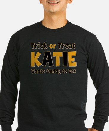 Katie Trick or Treat Long Sleeve T-Shirt