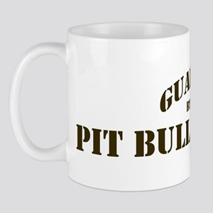 Pit Bull Terrier: Guarded by Mug