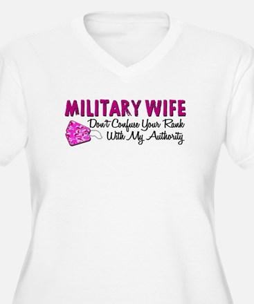 Military Wife Plus Size T-Shirt