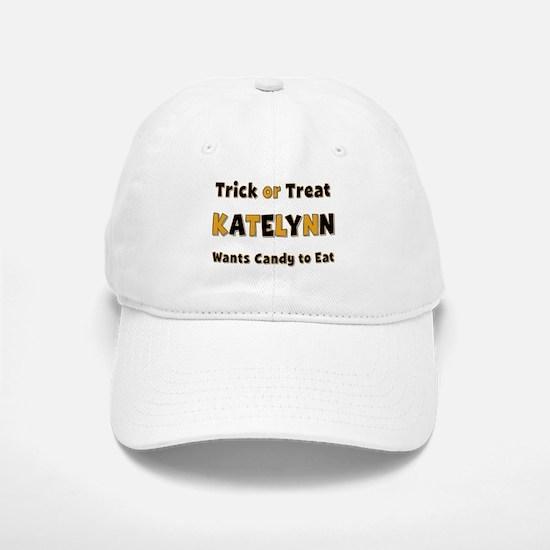 Katelynn Trick or Treat Baseball Baseball Baseball Cap