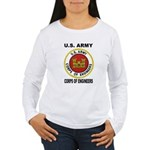 ARMY CORPS OF ENGINEERS Women's Long Sleeve T-Shir