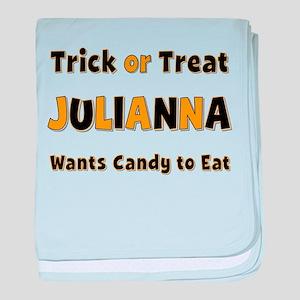 Julianna Trick or Treat baby blanket