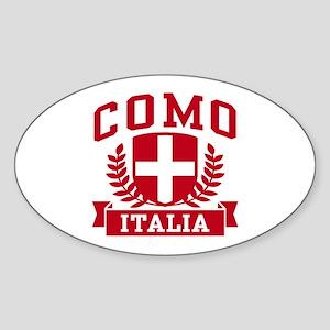 Como Italia Sticker (Oval)