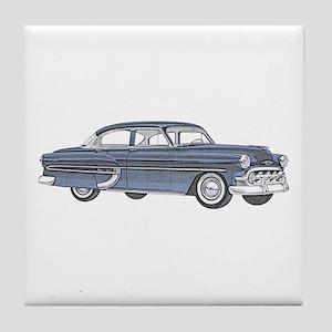 1953 car Tile Coaster