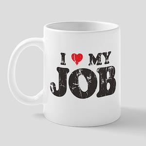 Retro Love My Job Mug