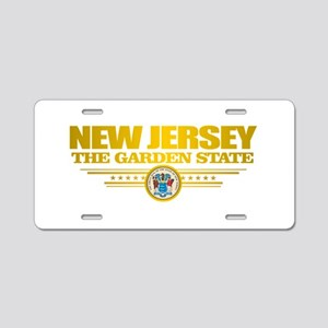 New Jersey Flag Aluminum License Plate