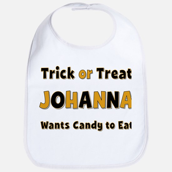 Johanna Trick or Treat Bib