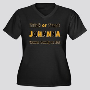 Johanna Trick or Treat Plus Size T-Shirt