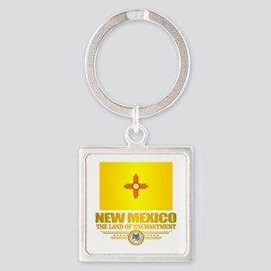 New Mexico Flag Keychains