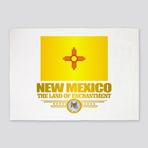 New Mexico Flag 5'x7'Area Rug