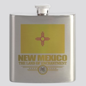 New Mexico Flag Flask