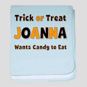 Joanna Trick or Treat baby blanket