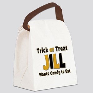 Jill Trick or Treat Canvas Lunch Bag