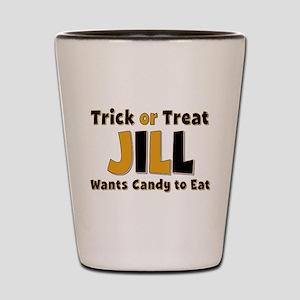 Jill Trick or Treat Shot Glass