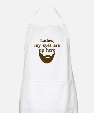 Ladies Eyes Up Here Apron