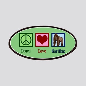 Peace Love Gorillas Patch