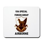 10TH SPECIAL FORCES GROUP AIRBORNE Mousepad