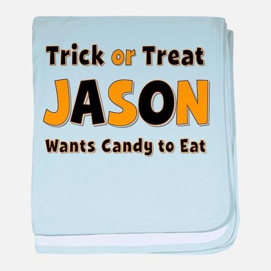 Jason Trick or Treat baby blanket
