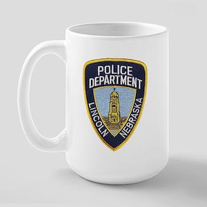 Lincoln Police Large Mug
